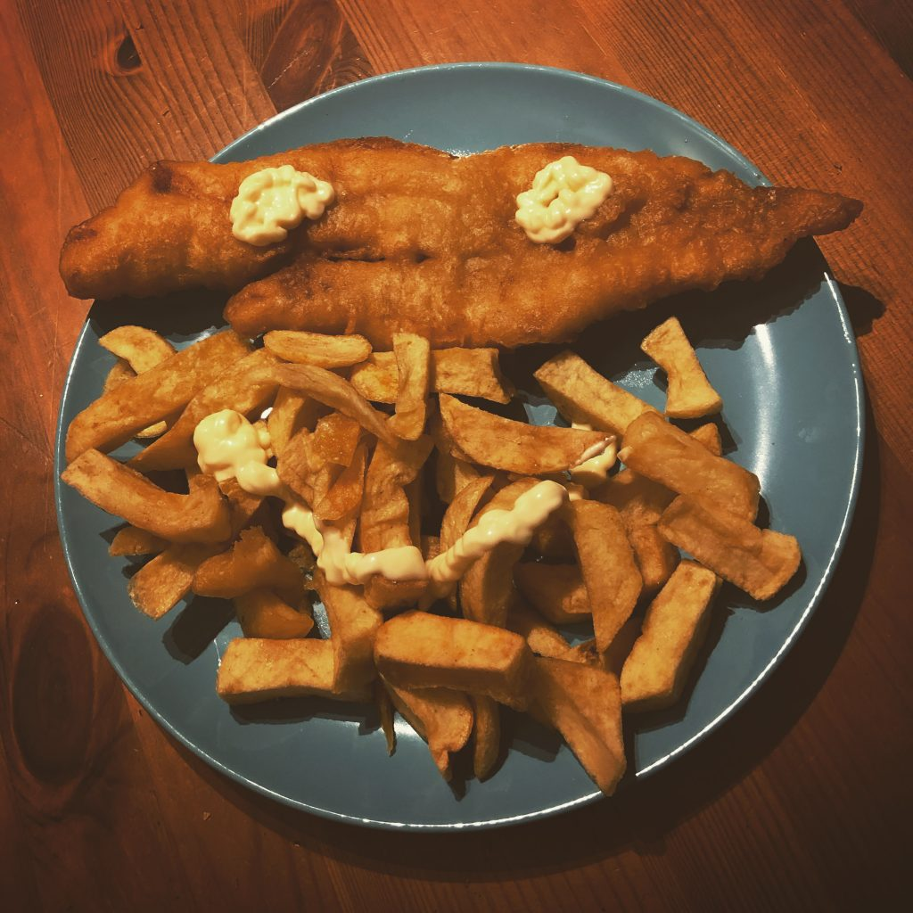 COVID-19 DIARIES. DAY 18- FISH AND CHIPS
